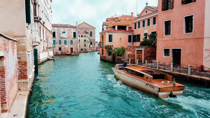 Båd i Venedig